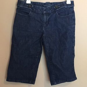 Banana Republic denim bermuda shorts